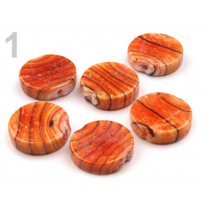 Korálky porcelánové č. 42