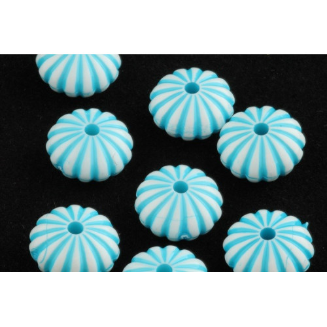 Plastové korálky 3038 (14x8 mm)