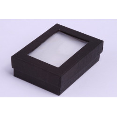 Dárková krabička černá 90x65x28mm