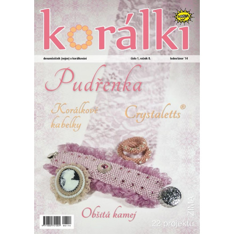 Časopis korálki 1/ 2014
