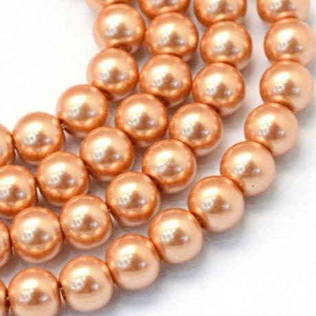Korálek kovový fialový (10 mm)