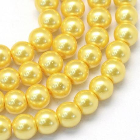 Korálek kovový světle růžový (10 mm)