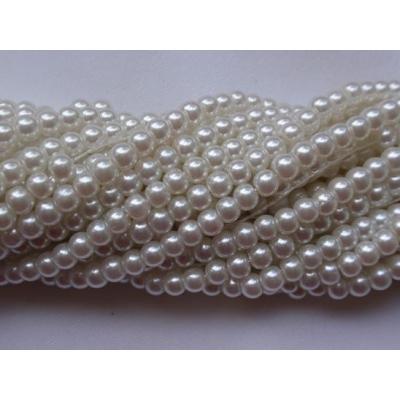 Korálek kovový tmavě modrý (10 mm)