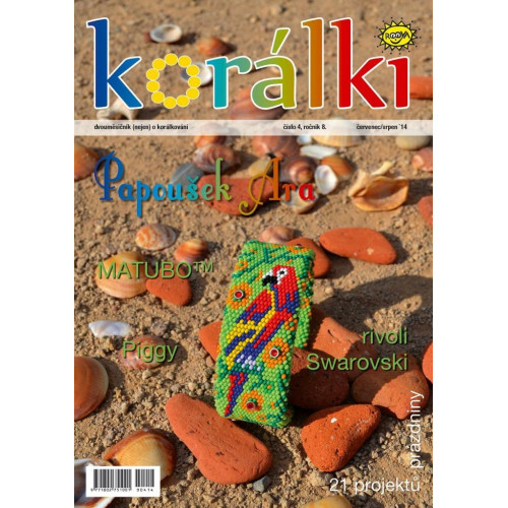 Časopis korálki  4/ 2014