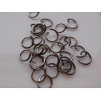 Spojovací kroužky rodium 5 mm