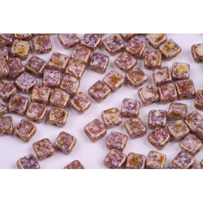 Dvoudírkové čtverečky č.7 (6x6 mm)