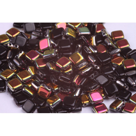 Dvoudírkové čtverečky č.12 (6x6 mm)