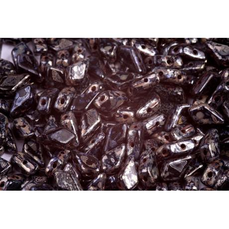 Korálky houbička č.14 - (9x8mm)