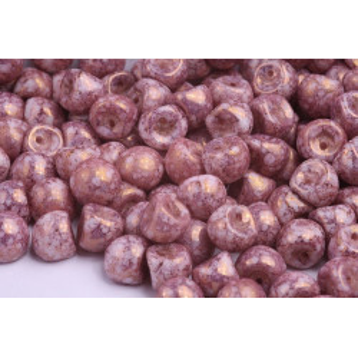 Korálky houbička č.16 - (9x8mm)