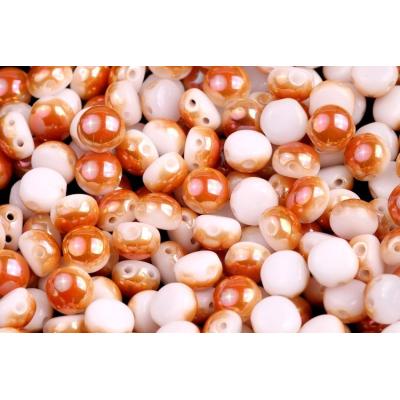 Korálky houbička č.46 - (9x8mm)