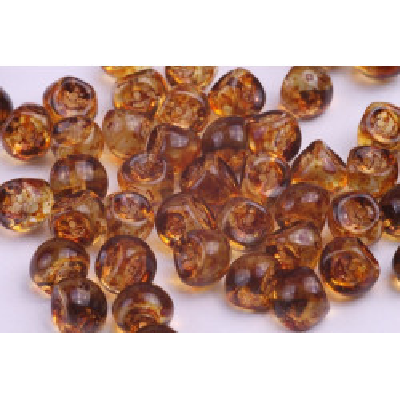 Korálky houbička č.47 - (9x8mm)