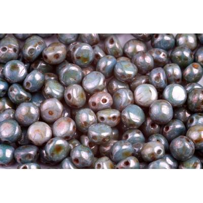 Korálky houbička č.48 - (9x8mm)