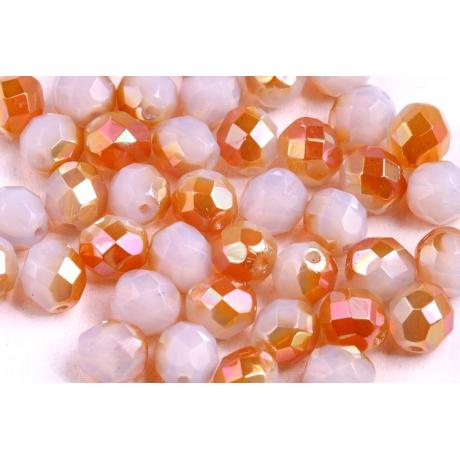Zamačkávací rocail platina kulatý 2 mm
