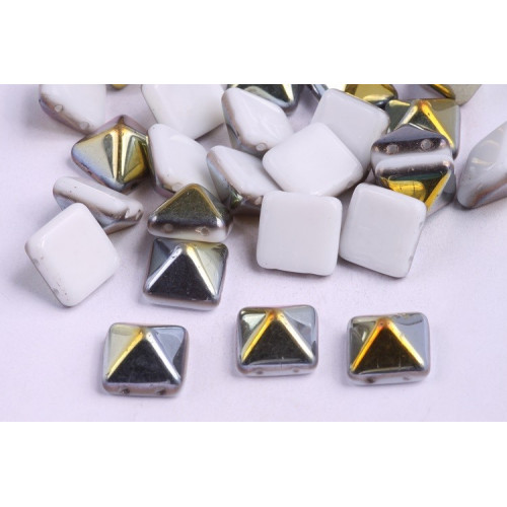 Dvoudírková pyramida č.13 (12x12mm)