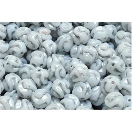 Spojovací kroužky organizér - růžovo fialové