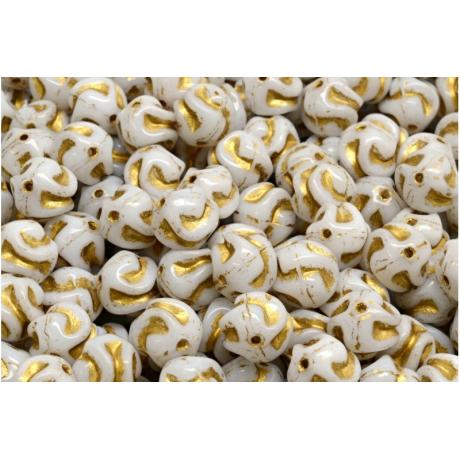 Spojovací kroužky organizér - zlato hnědé