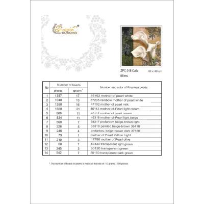 Kuličky mix č.24 - 4 mm
