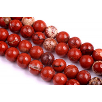 Minerál Jaspis červený č.26 (8mm)