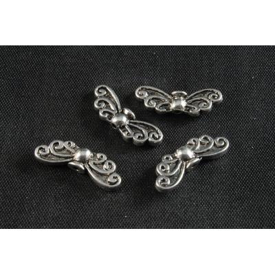 Plastové korálky 127 (9x5.5mm)