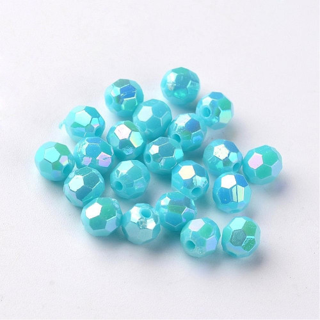 Plastové korálky 230 (6 mm)