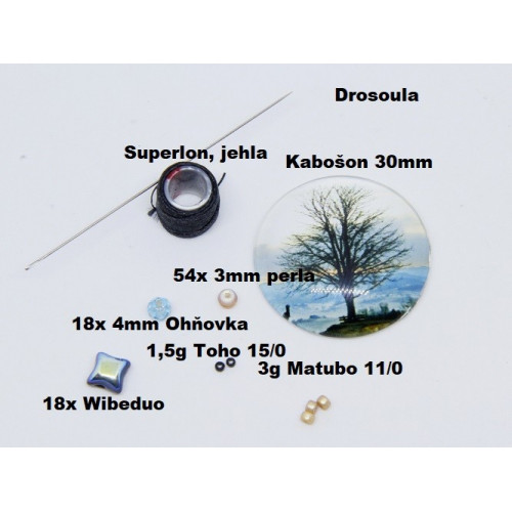 Návod kabošon Drosoula