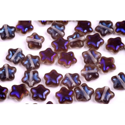 Korálky hvězdičky č.1351 (8x8mm)