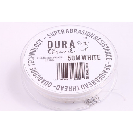 DURA thread white (50m)