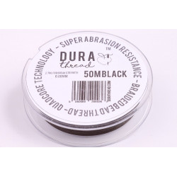 DURA thread black (50m)