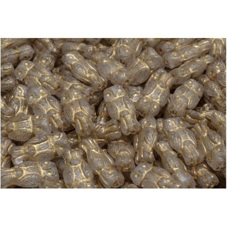 Korálky lístek č.1482 (13x11mm)