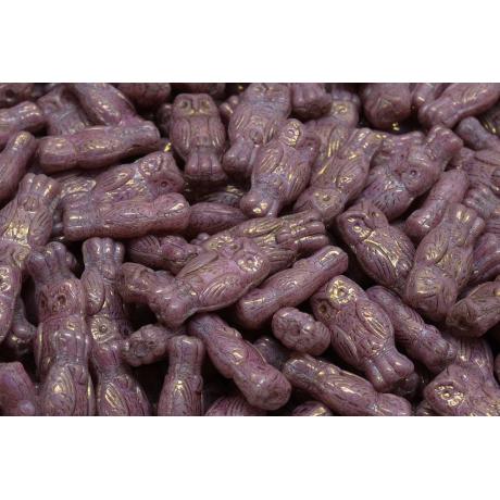Korálky meloun č.1505 (8x8mm)