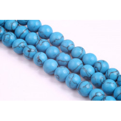 Synthetic Turquoise Beads no 262 (8mm)