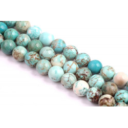 Natural Turquoise Beads no 263 (8mm)