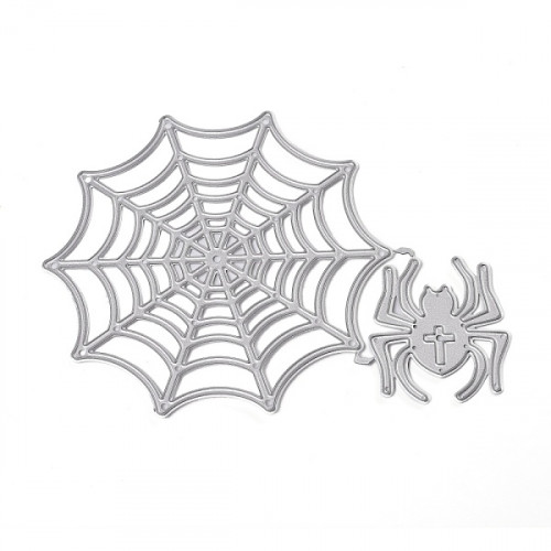 Halloween Spider Web cutting template 16.