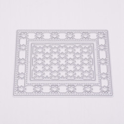 Decoration cutting template 17.