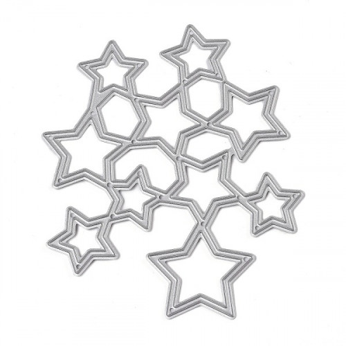Stars cutting template 24.
