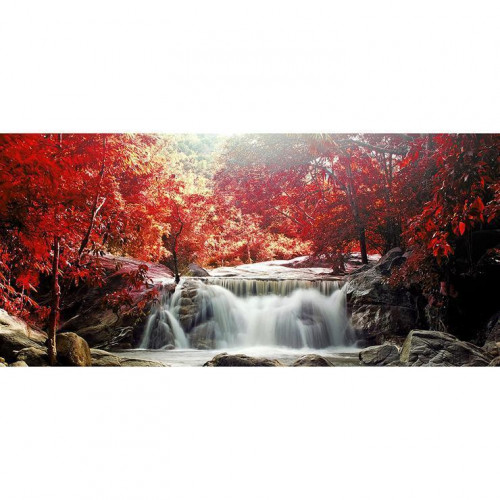 Diamond painting - Autumn waterfall no. 18