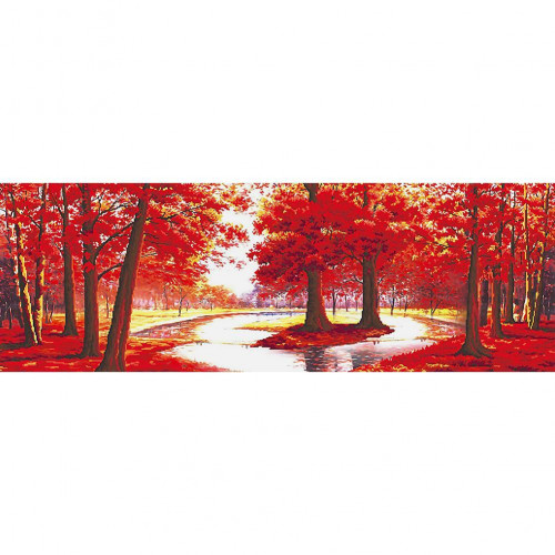 Diamond painting - Red trees No.19
