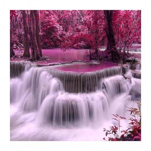 Diamond painting - Pink waterfall no.25