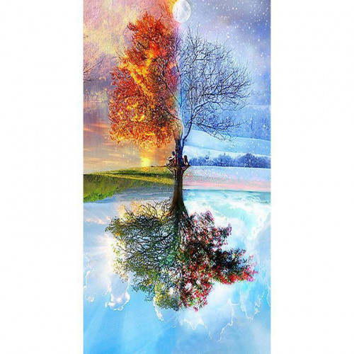 Diamond painting - Tree of the season No.39