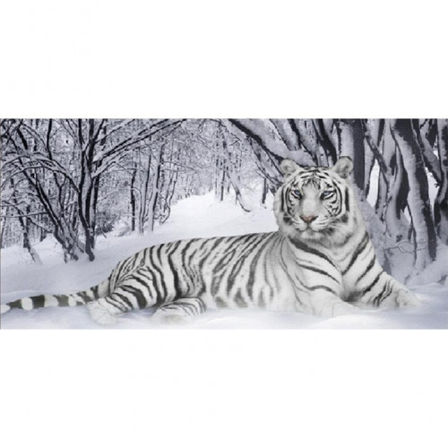 Diamond painting - White tiger No.72