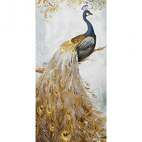 Diamond painting - Painted peacock No.74