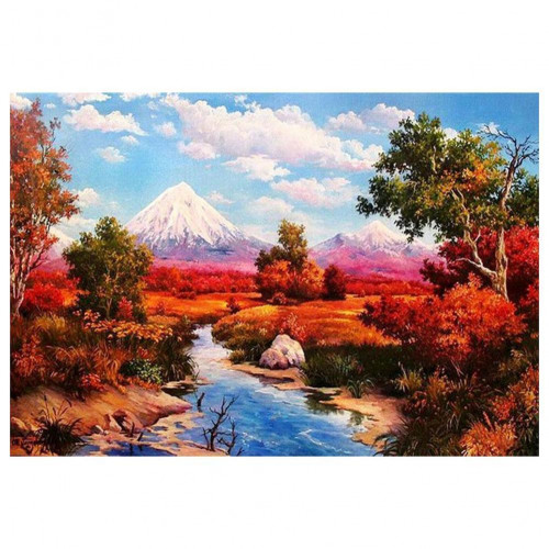 Diamond painting - Landscape with mountains No.81