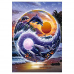Diamond painting - Dolphins in a ball no.124