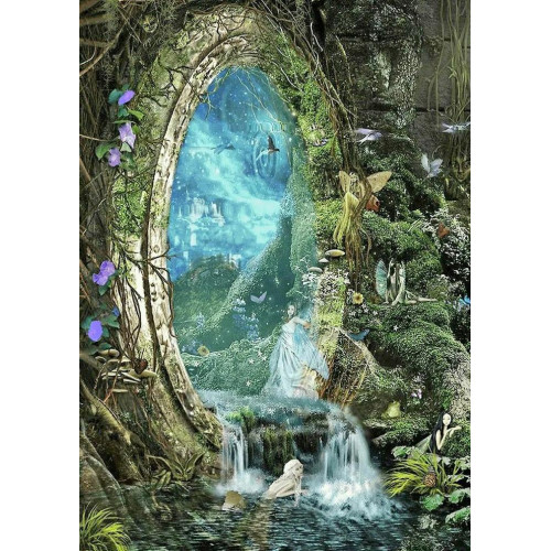 Diamond painting - Magic Forest No.161