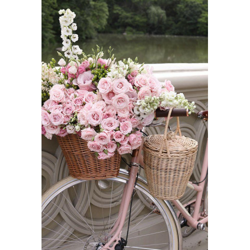 Diamond painting - Roses on a bicycle No.165
