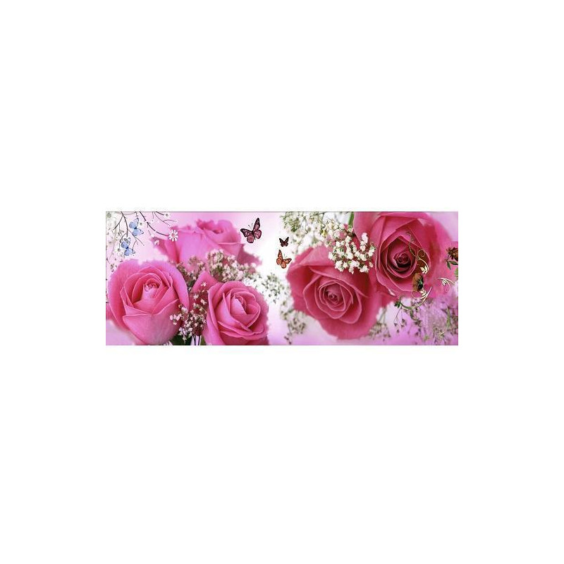 Diamond painting - Roses with butterflies No.264