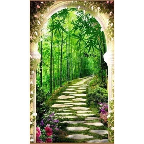 Diamond painting - Bamboo forest No.521