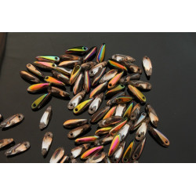 Korálky - jazýčky 2262 (10x3 mm)